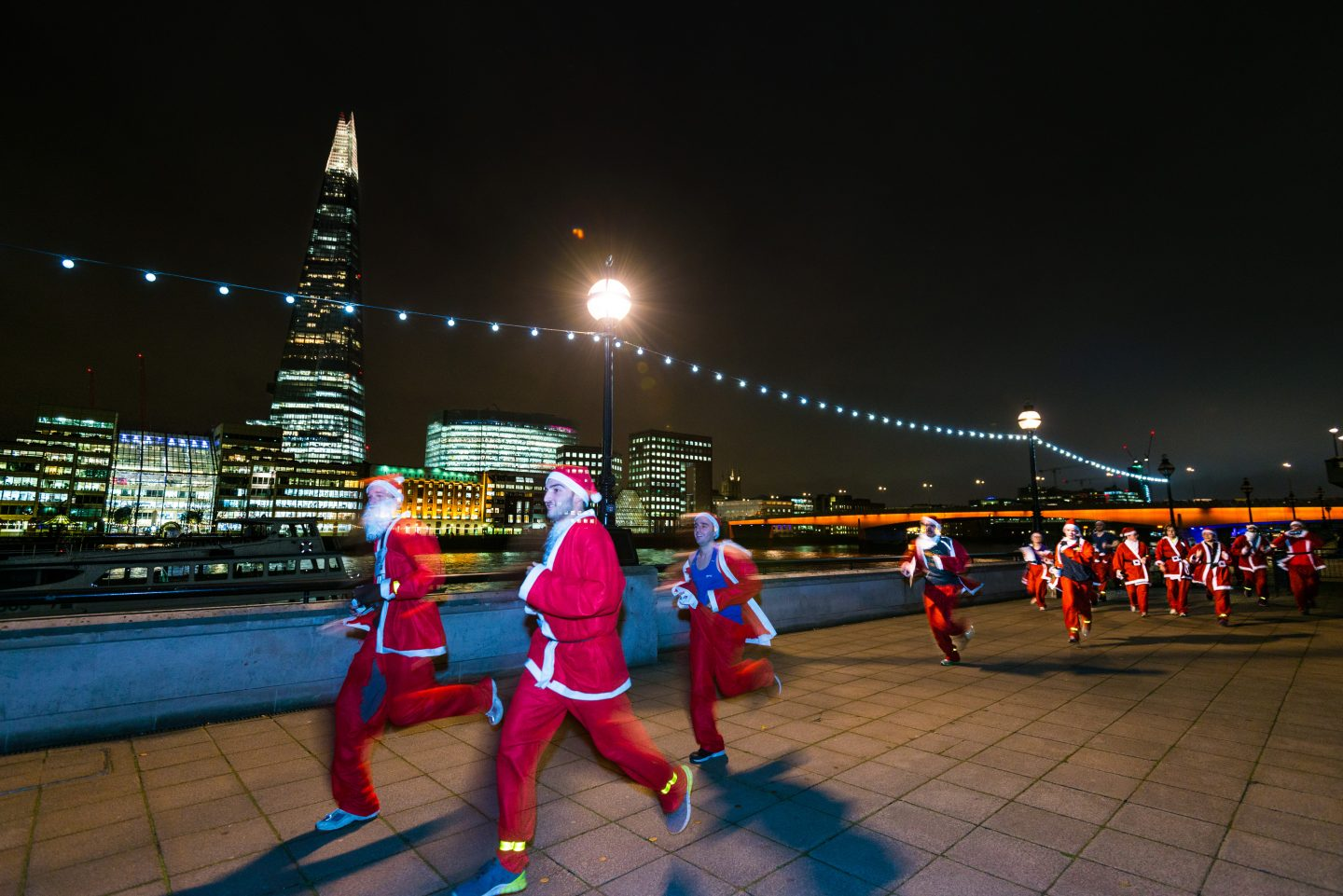 Brainwave Santa Dash – Spitalfields Market, London
