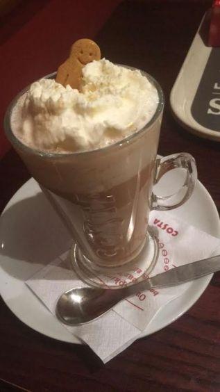 Gingerbread Latte (Costa)