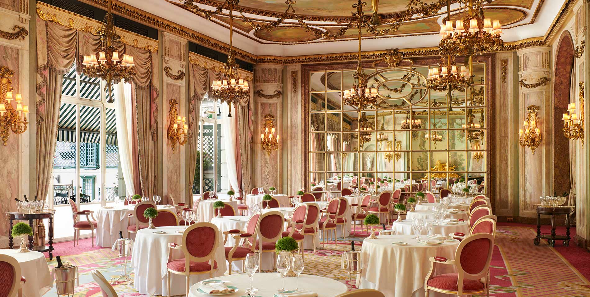 Dinner at 'The Ritz', London